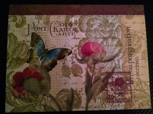 August 2014 Postcard Project