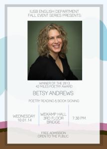 Betsy Andrews_IUSB Reading